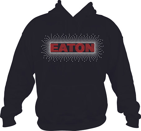 Eaton Scatt Rhinestone Hoodie