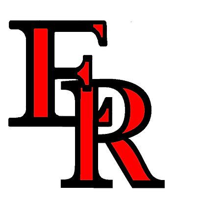 Eaton Reds Car ER Sticker 2 color B/R