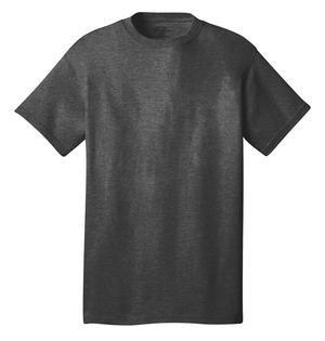100% Cotton  Grey T-shirt Short Sleeve (LJ)