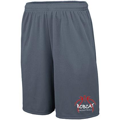Grey Wicking Shorts w/pockets (MHS)