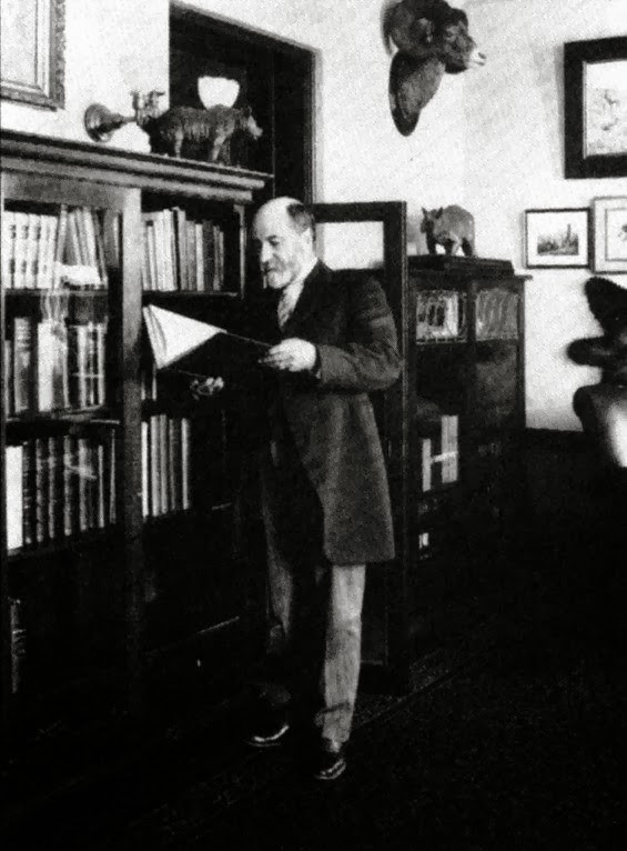 Dr. William T. Hornaday, director of New York Zoological Societ