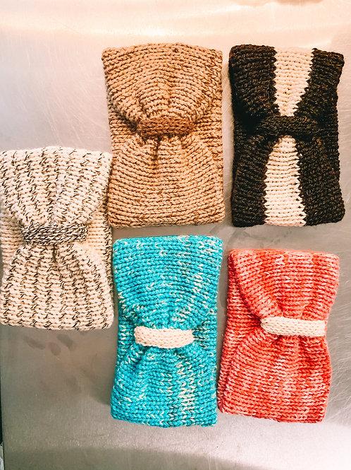 Hand-Knitted Alpaca Headbands
