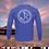 Thumbnail: Release Circle Royal Blue Performance Long Sleeve  SPF 50
