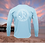 Thumbnail: Release Circle Icy Blue Performance Long Sleeve SPF 50
