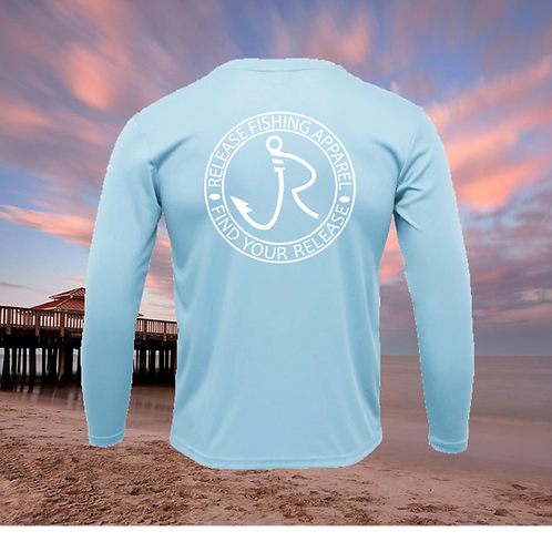 Release Circle Icy Blue Performance Long Sleeve SPF 50