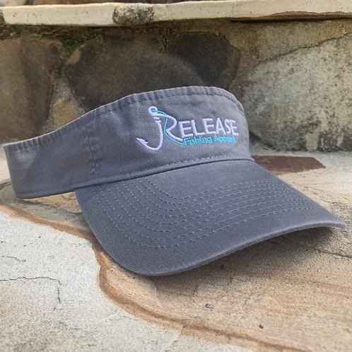 Release Logo Gray Visor