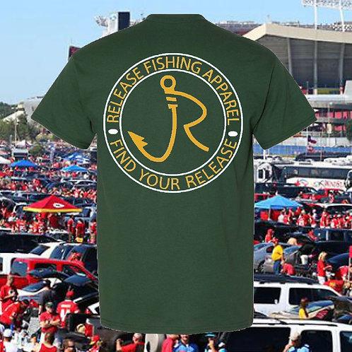 Tailgating Green/Gold T-Shirt