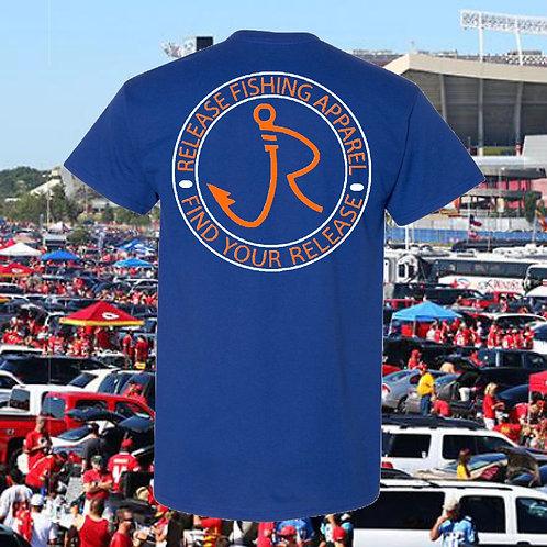 Tailgating Blue/Orange T-Shirt