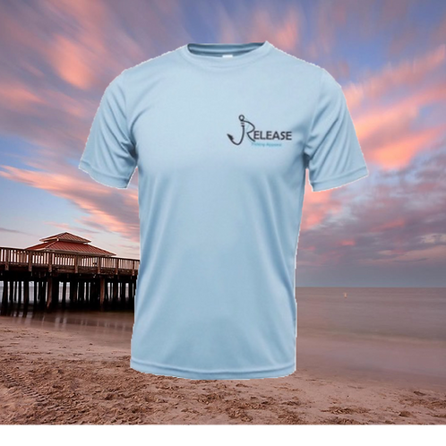 Find Your Release Icy Blue Performance Short Sleeve  SPF 50