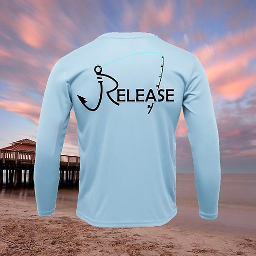 Release Rod Icy Blue Performance Long Sleeve SPF 50