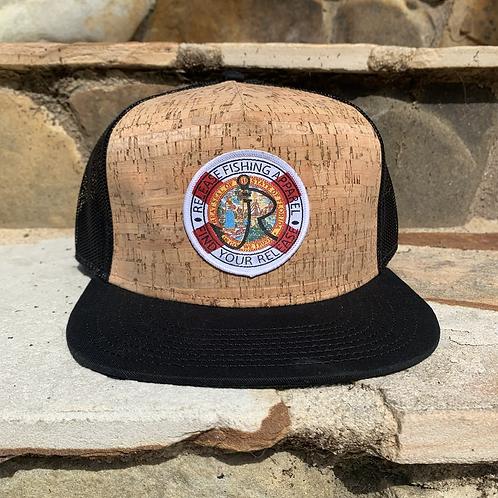 Florida Flag Cork Hat
