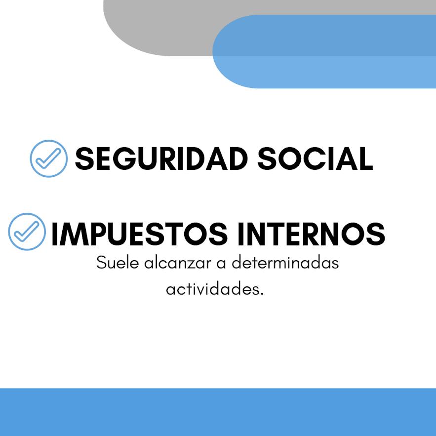 Seguridad Social + Impuestos Interno