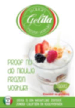 frozen yoghurt Gelita