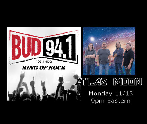 Atlas Moon on BUD 94.1 FM!