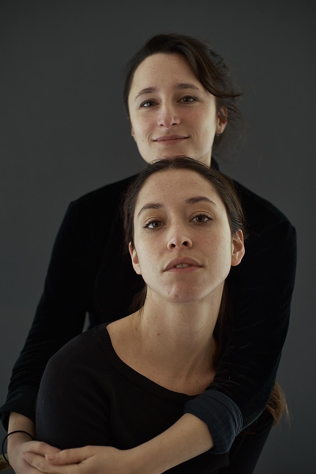 Elvira Raymond y Natalia Ramirez