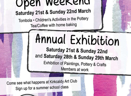 Open Weekend and Exhibition