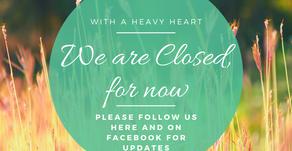 COVID-19 Clinic Closure Updates