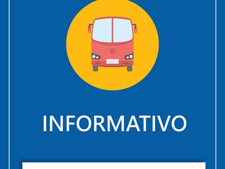 11/03/2020 - Alteração de itinerário da linha 304 - Praia do Siqueira x Forte São Mateus