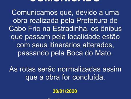 Comunicado - 30/01/2020