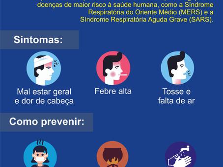 Prevenção ao Corona Vírus