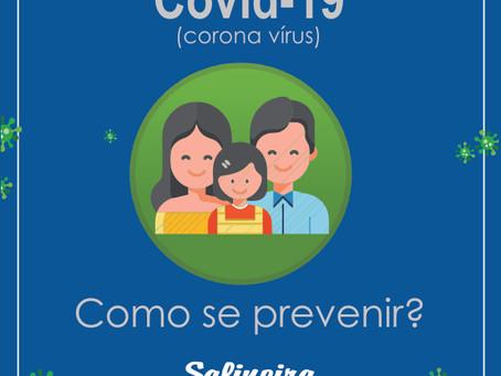 Covid-19: Como se prevenir?!