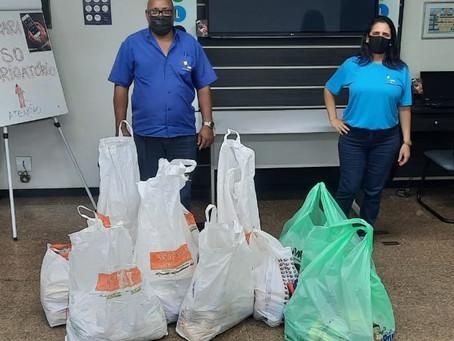 Salineira realiza entrega de brinquedos e alimentos arrecadados na campanha de Natal