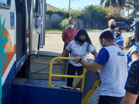 Procon RJ realiza fiscalização em ônibus da Auto Viação Salineira