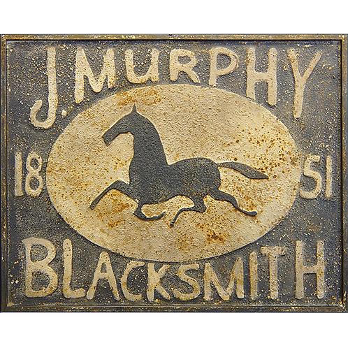 Vintage Reproduction Metal Sign -Murphy Blacksmith