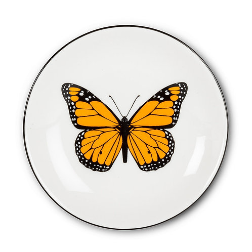 Butterfly Round Pin Dish