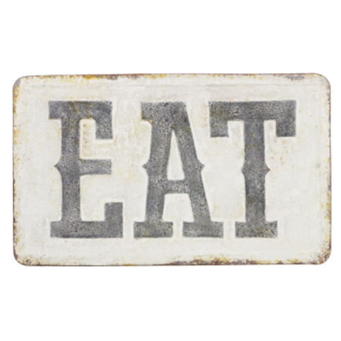 Vintage Reproduction Metal Sign - EAT