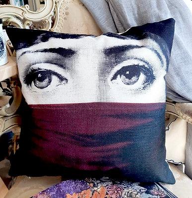 Fornasetti Decorative Pillow