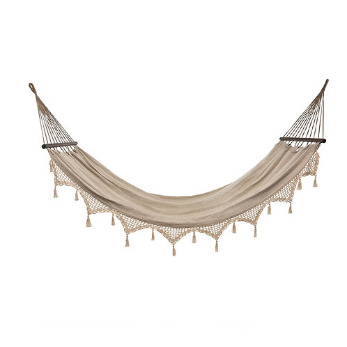 Crocheted Tassel Hammock