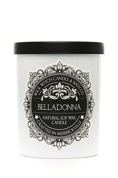 Belladonna - Wick Witch Natural Soy Wax Candle