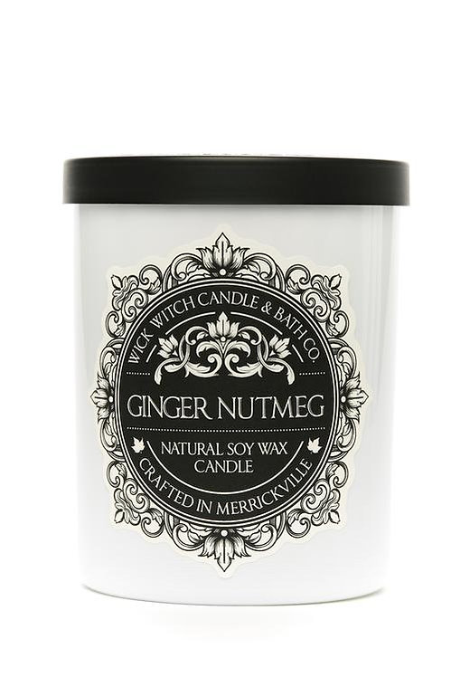 Ginger Nutmeg - Wick Witch Natural Soy Wax Candle