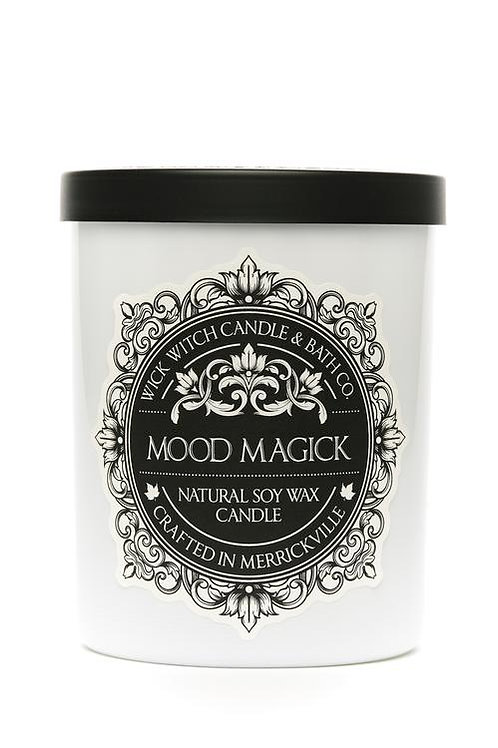 Mood Magick- Wick Witch Natural Soy Wax Candle