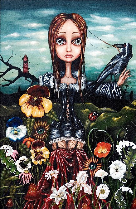 Madame Nature -  Angelina Wrona Print