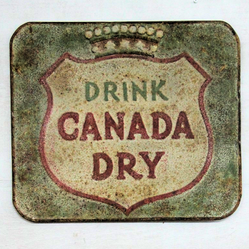 Vintage Reproduction Metal Sign - Canada Dry