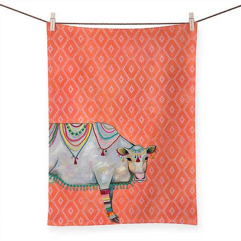 Queen of the Pasture - 100 % Cotton Tea Towel