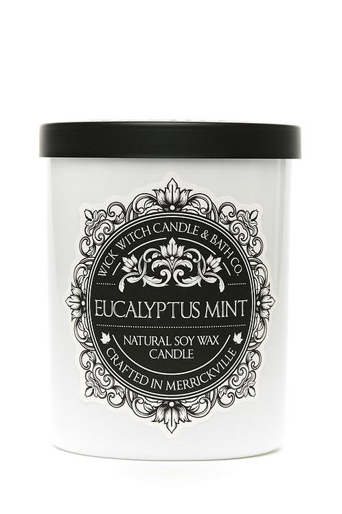 Eucalyptus Mint - Wick Witch Natural Soy Wax Candle