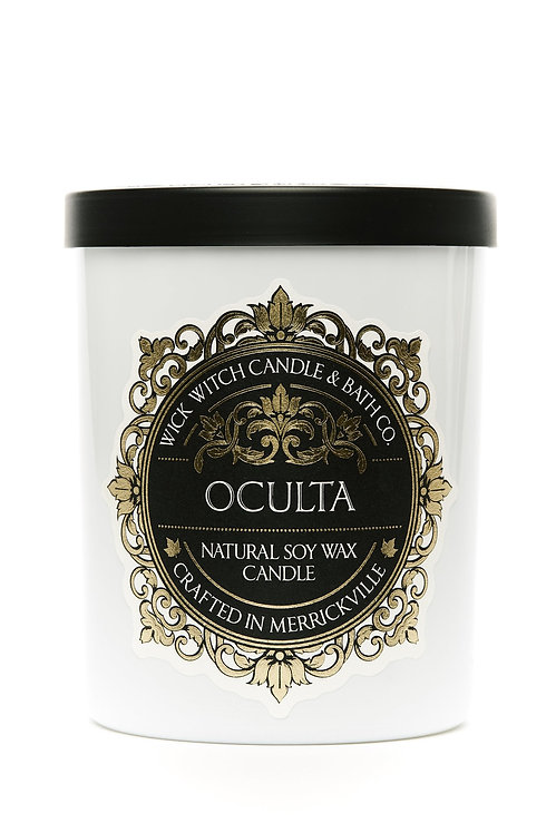 Oculta - Wick Witch Natural Soy Wax Candle
