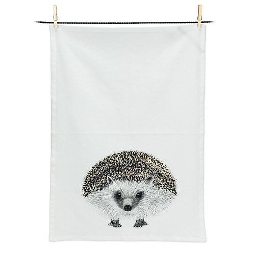 Henry Hedgehog - 100 % Cotton Tea Towel