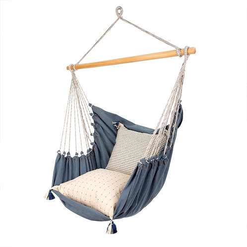 Denim Hammock Chair