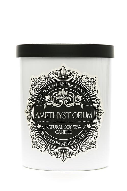 Amethyst Opium - Wick Witch Natural Soy Wax Candle