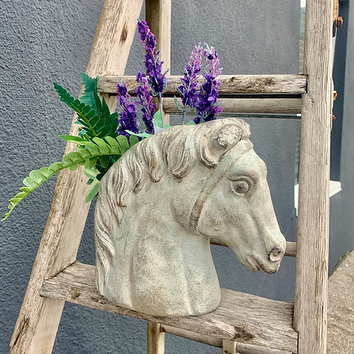 Horse Head Planter