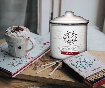 Comfort - White Water Candles
