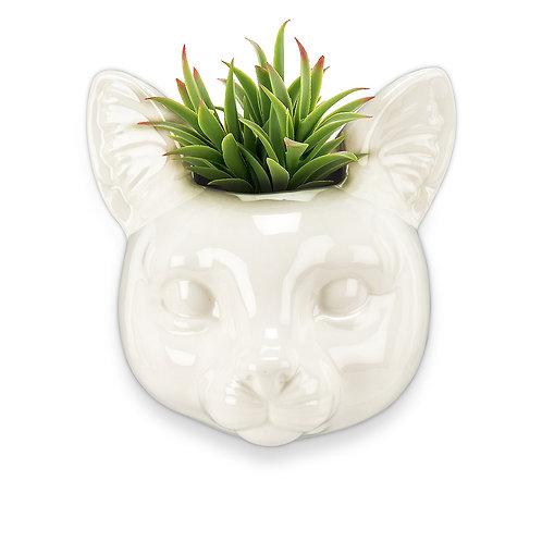 Wall Head Planter - Cat