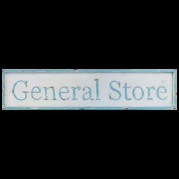 Metal Sign - General Store