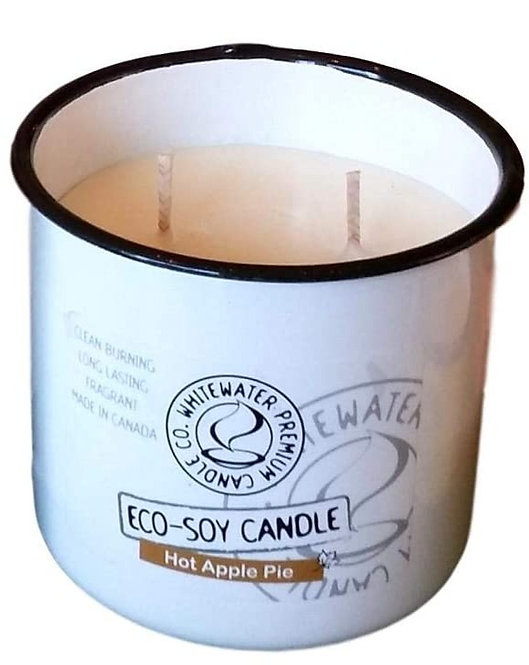 Hot Apple Pie White Water Candles -