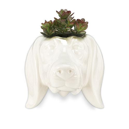 Wall Head Planter - Daschaund