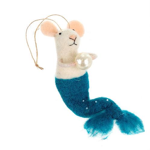 Mermaid Mouse Blue - Felties